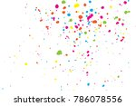 white background with many... | Shutterstock .eps vector #786078556