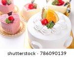 Various Sweet Cake