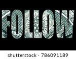 follow the money  | Shutterstock . vector #786091189