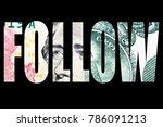 follow the money  | Shutterstock . vector #786091213