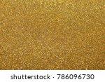 golden giltter texture... | Shutterstock . vector #786096730