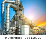 close up oil and gas refinery... | Shutterstock . vector #786115720