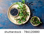 superfood maqui berry.... | Shutterstock . vector #786120880