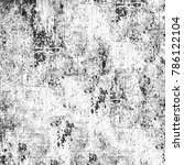 texture black and white grunge... | Shutterstock . vector #786122104