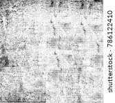 texture black and white grunge... | Shutterstock . vector #786122410