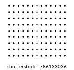 small polka dot seamless...   Shutterstock .eps vector #786133036