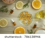 natural cosmetic skincare serum ... | Shutterstock . vector #786138946