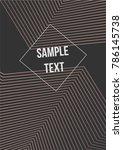 minimum geometric coverage....   Shutterstock .eps vector #786145738