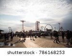 coney island  new york  august... | Shutterstock . vector #786168253