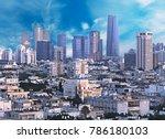 Epic Skies On Tel Aviv Busines...