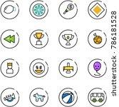 line vector icon set   lemon...   Shutterstock .eps vector #786181528