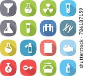 flat vector icon set   funnel... | Shutterstock .eps vector #786187159