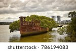 shipwreck sydney new south... | Shutterstock . vector #786194083