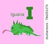 vector of cute english alphabet ... | Shutterstock .eps vector #786201274