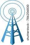 illustration of communication... | Shutterstock .eps vector #786206830
