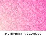 valentines day horizontal...   Shutterstock .eps vector #786208990