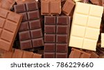assorted chocolate bar | Shutterstock . vector #786229660
