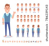 young guy character for your... | Shutterstock .eps vector #786239143