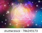 sacred geometry esoteric...   Shutterstock .eps vector #786245173
