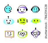 graphic design trend modern... | Shutterstock .eps vector #786254128