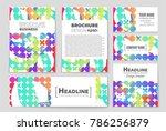 abstract vector layout... | Shutterstock .eps vector #786256879