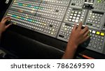 broadcast control in the...   Shutterstock . vector #786269590