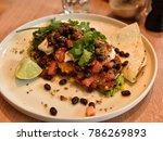 cafe food  breakfast  lunch ...   Shutterstock . vector #786269893