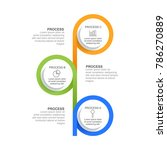 circle infographic template... | Shutterstock .eps vector #786270889