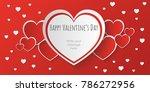 Happy San Valentine Day Banner...