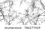 distressed black and white... | Shutterstock .eps vector #786277429
