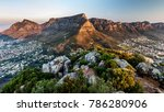 table mountain sunset | Shutterstock . vector #786280906
