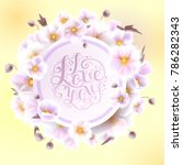 wedding invitation  save the...   Shutterstock .eps vector #786282343