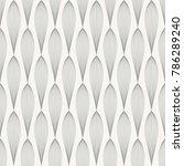 vector grey seamless pattern | Shutterstock .eps vector #786289240