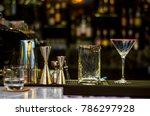 nightclub and interior in... | Shutterstock . vector #786297928