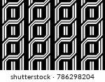 design seamless monochrome... | Shutterstock .eps vector #786298204