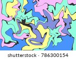 abstract color background | Shutterstock .eps vector #786300154