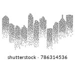 city skyline background vector... | Shutterstock .eps vector #786314536