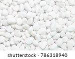 White Pebbles Texture Or...