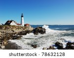 Portland Head Lighthouse  Maine ...