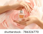 hands of beautiful young woman... | Shutterstock . vector #786326770