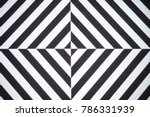 black and white lines | Shutterstock . vector #786331939