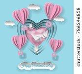 valentine's day illustration....   Shutterstock .eps vector #786346858