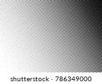 halftone background. grunge... | Shutterstock .eps vector #786349000