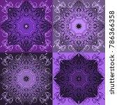 Ultra Violet Tiles Set  Color...