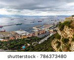 panoramic view from rock on sea ... | Shutterstock . vector #786373480