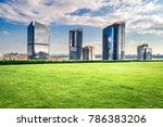green city of the future... | Shutterstock . vector #786383206