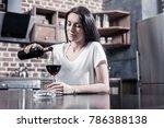 female alcoholism. sad... | Shutterstock . vector #786388138