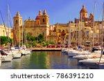 traditional maltese...   Shutterstock . vector #786391210