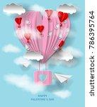 3d valentine's day illustration....   Shutterstock .eps vector #786395764
