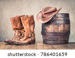 Wild West Old Retro Leather...